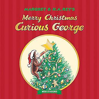 Buon Natale, curioso come George (con adesivi)