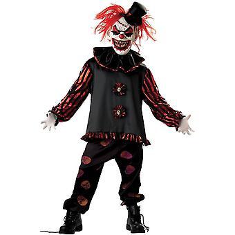 Frightful Clown Child Costume