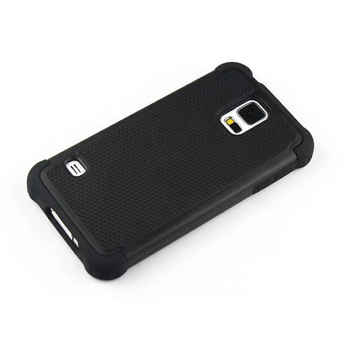 Stuff Certified ® Apple iPhone 6S - Hybrid Armor Case Cover Cas Silicone TPU Case Black