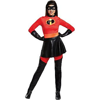 Mrs Incredible Adult Deluxe Costume