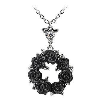 Alchemy Gothic Ring O ' Roses tinnen hanger