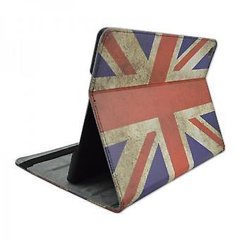Schutzhülle Kunstleder Tasche UK für Apple iPad Air 2 2014