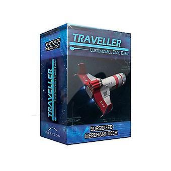 Traveller CCG Ship Deck Subsidized Merchant Card Game