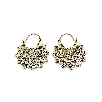 Avery and May Handmade Petals Filigree Earrings for Women