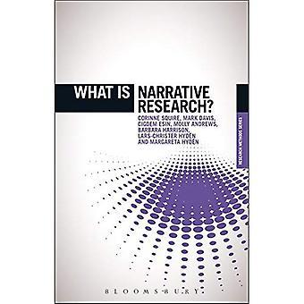 ¿Qué es la investigación narrativa? ('¿Qué es?' Métodos de investigación)
