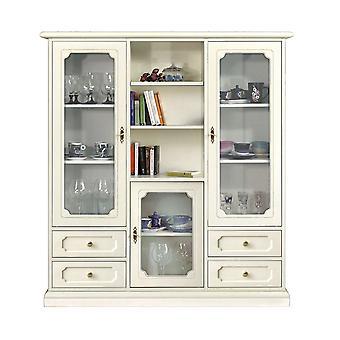 Kabinett Schaufenster 3 Türen 4 Schubladen