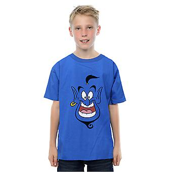 Disney Boys Aladdin Genie Face T-shirt