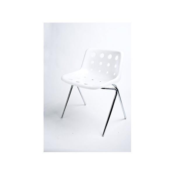 Loft Robin Day 4 Leg Semi-Transparent Plastic Polo Chair