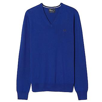 Fred Perry Classic Tipped V-Neck Sweatshirt K7210-139