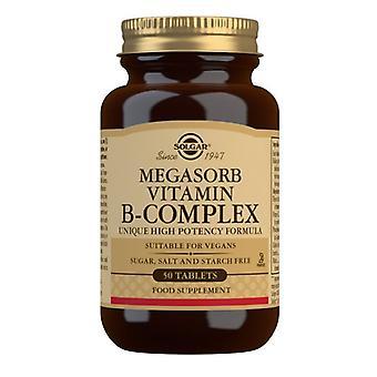Solgar Megasorb vitamiini B-kompleksi tabletit 50 (1750)