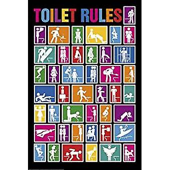 Poster - Toilet Rules - 24