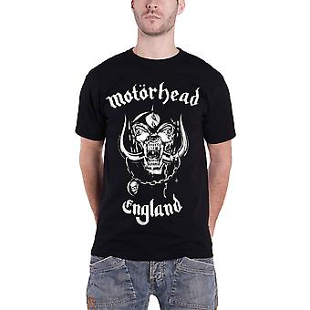 Official Motorhead T Shirt England Classic War Pig Band Logo Mens New Black