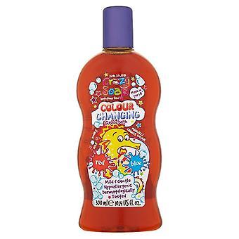 Kinder Sachen verrückt Seife Farbwechsel Schaumbad ~ rot bis blau