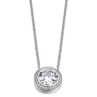 ESPRIT Collection S.ELNL92330A400 - Antigone women's chain - sterling silver 925 rhodised - with zircons - 40 cm - color: white