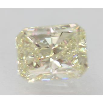 Zertifiziert 1,70 Karat J VS1 Radiant Enhanced Natural Loose Diamond 7.59x6.03m 2VG