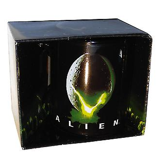 Alien Egg Logo Heat Change Mug