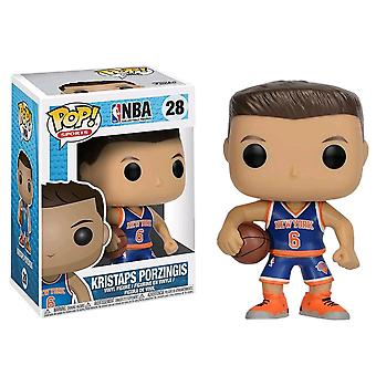 NBA Kristaps Porzingis Pop! vinyle