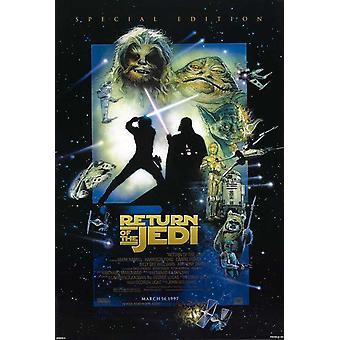 عودة الجيداي (1997 إعادة الإصدار) ملصق السينما الأصلي