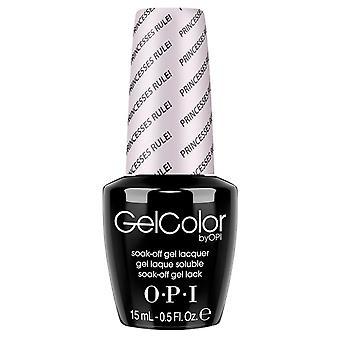 OPI GelColor Gel Color - Soak Off Gel Polish - Princesses Rule 15ml (GC R44)