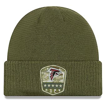 New era salute to service winter Hat - Atlanta Falcons