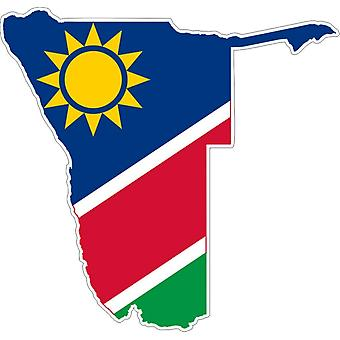 Sticker Sticker Adhesif Vinyl Car Flag Map Namibia