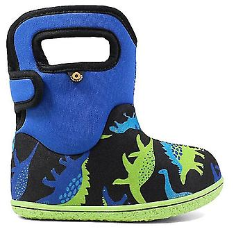 Baby Bogs Boys Dino Boots Electric Blue