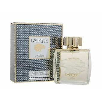 Lalique pour homme Lion Eau de toilette 75ml EDT spray