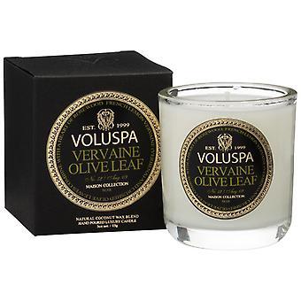 Voluspa Classic Maison Boxed Votiv Kerze Vervaine Olivenblatt 85g