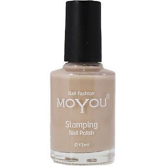 MoYou Stamping Nail Art - Special Nail Polish - Sandstorm 12ml