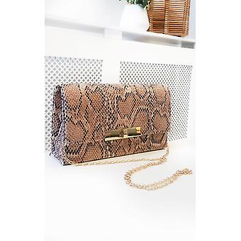 IKRUSH Womens Lala Printed Clutch Bag