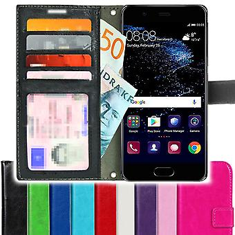 TOP SLIM Huawei P10 Wallet Case 4pcs Card