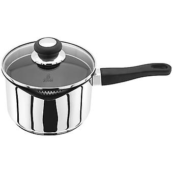 Judge Vista, Non-Stick Draining 18cm Saucepan, 2.1 Litre