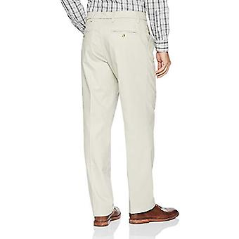 Dockers Men's Classic Fit Signature Khaki Lux Cotton, Cloud, Size 32W x 32L