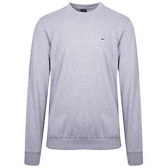 Paul & Shark Grey Shark Logo Sweatshirt