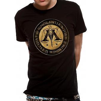Harry Potter-Ministry Crest T-paita