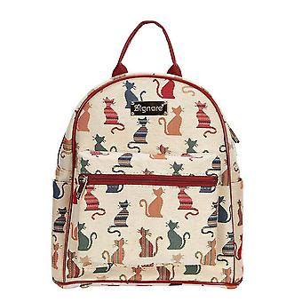 Cheeky cat casual daypack by signare tapestry / dapk-cheky