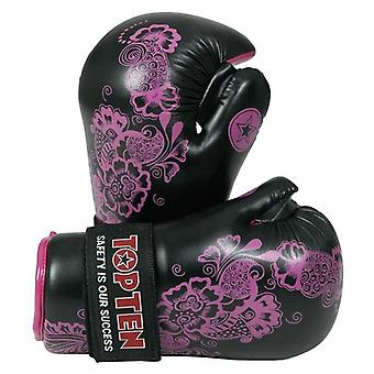 Top Ten Pointfighter Handschuhe Blumen