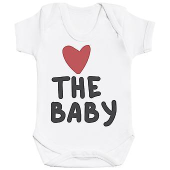 The Family Hearts - Matching Set - Baby Bodysuit & Kids T-Shirt, Mum & Dad T-Shirt