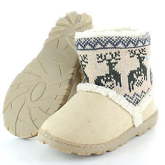 Divaz Womens/Ladies Danemark Winter Bootie Slippers