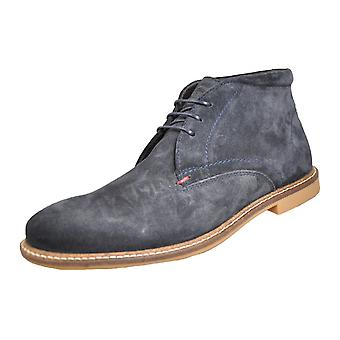 Basis London Mortimer Suede Navy