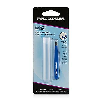 Tweezerman Mini Slant Tweezer - Bahama Blue - -