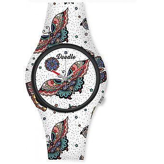 Watch Doodle NATURE MOOD DO35010 - Butterfly 35mm male/female