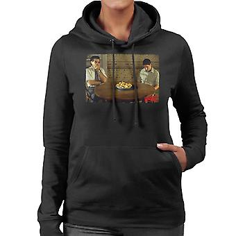American Pie On The Table Women's Hooded Sweatshirt
