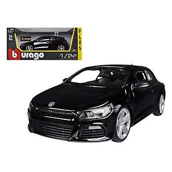 Volkswagen Scirocco R Black 1/24 Diecast Auto Modell von Bburago