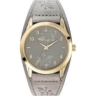 Tamaris - wristwatch - Alena - DAU 39mm - gold - ladies - TW028 - grey gold