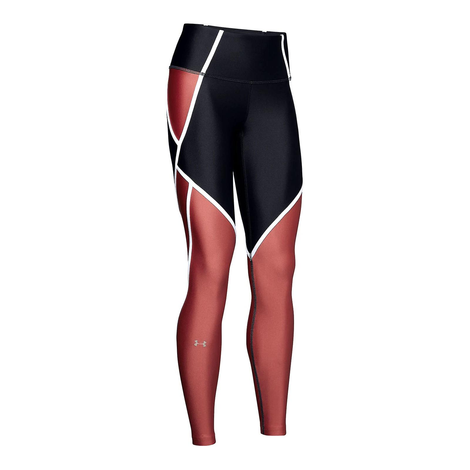 Under Armour HeatGear Armour Edgelit Womens Compression Baselayer Legging Black