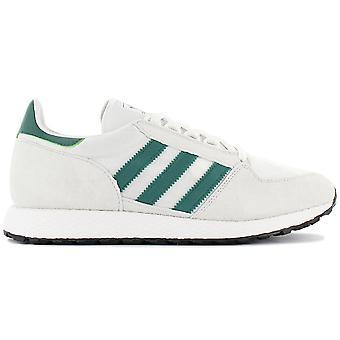 adidas Originals Forest Grove Uomo Scarpe da uomo Bianco-Verde B41546 Sneaker Scarpe Sportive