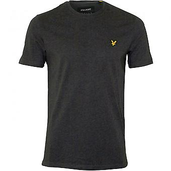 Lyle & Scott Classic Crew-Neck T-Shirt, Charcoal Marl