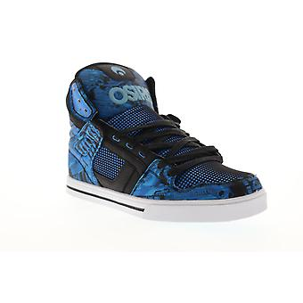 Osiris Clone Mens Blue Synthetic High Top Lace Up Sneakers Shoes