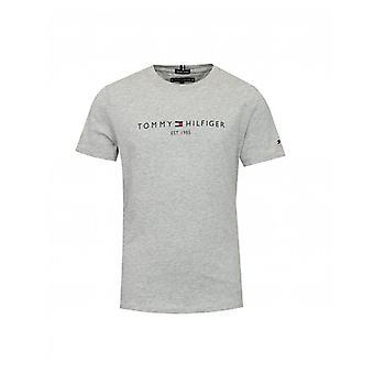 T-shirt met logo vooraan, Tommy Hilfiger